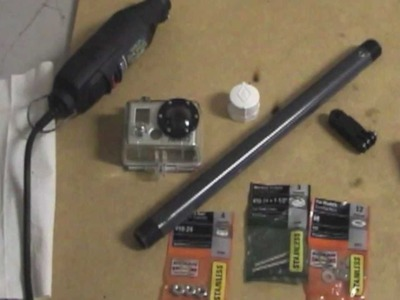 DIY:  How To Make A GoPro Pole.Pole Mount Cheap