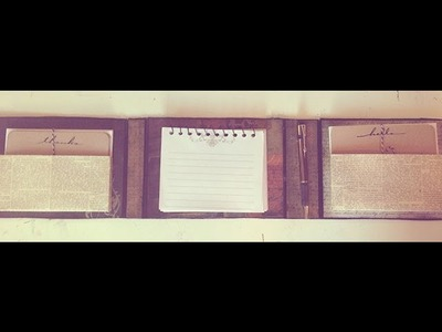 Handmade Stationery Set Tutorial Part 2