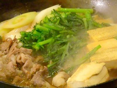 How to cook Sukiyaki