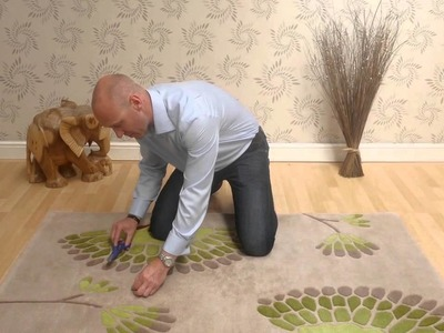 How to deal with loose strands on your Rug