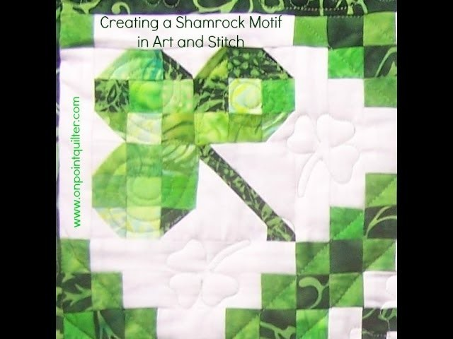 How to Draft a Shamrock Block in Art and Stitch