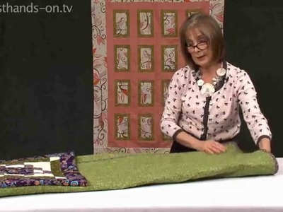 How to fold a secret pillow with Valerie Nesbitt