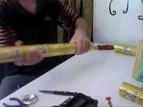 How to join cans without caulk for solar furnance