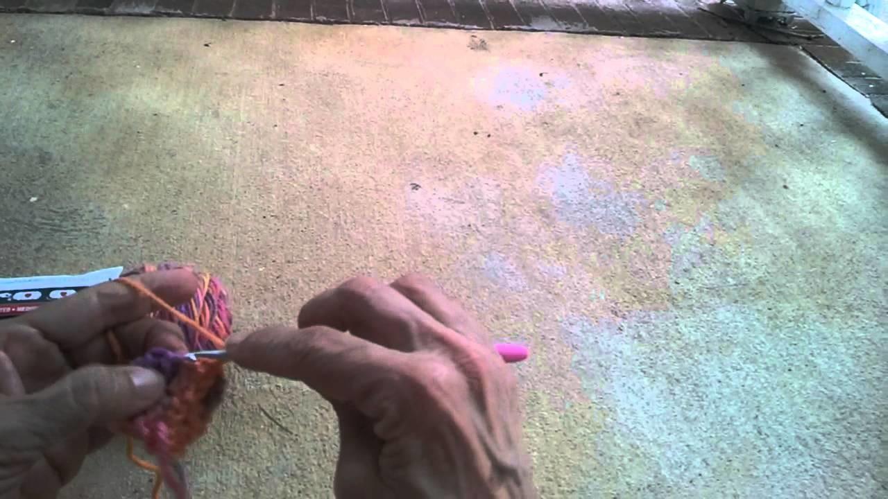 How to make a crochet tension regulator