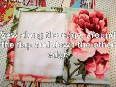 How to make a felt lined purse