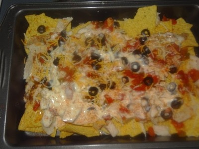 How To Make Chicken Nachos Easy