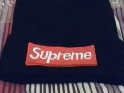 How to spot Fake Supreme Beanie Hat