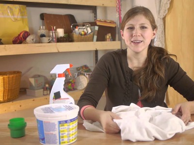 How to Wash White Cotton Clothing : Felt, Wool, & Other Fabric Care