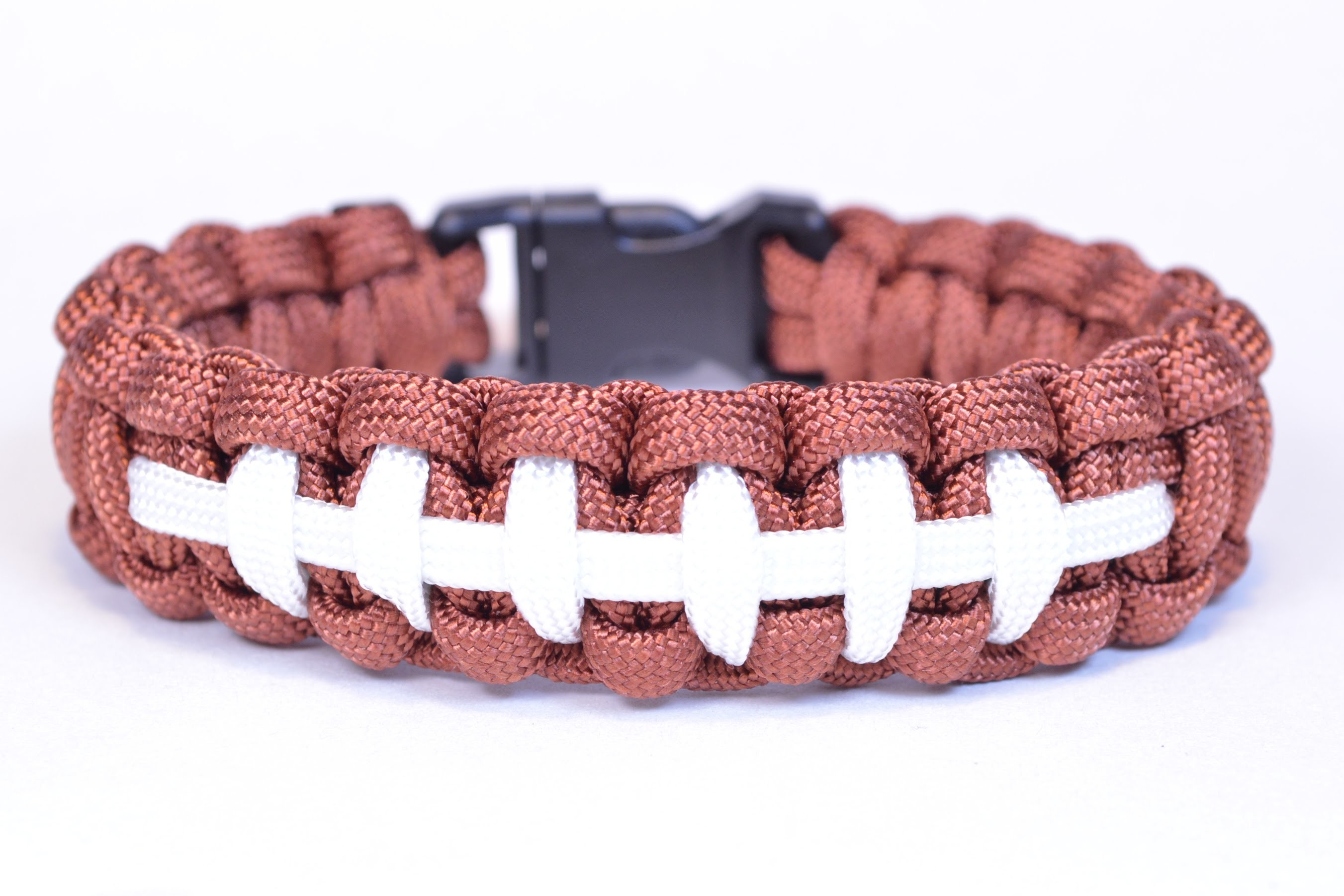 Make a Football Themed Paracord Survival Bracelet - BoredParacord