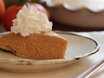 Pie Recipes - How to Make Pumpkin Chiffon Pie
