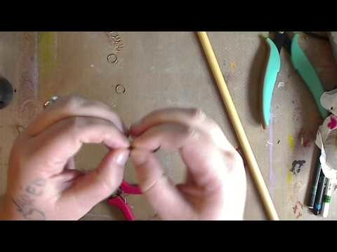 Quickie-- How to make Stitch markers pt 1