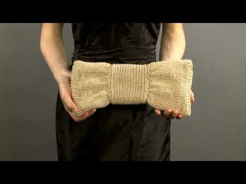 #3 Bow Clutch, Vogue Knitting Holiday 2008