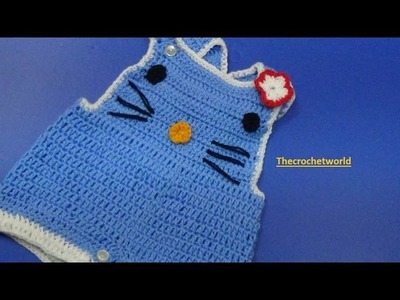 Crochet Kids Romper.Shorties-4
