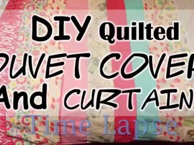 DIY Duvet Cover Time Lapse