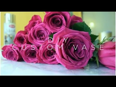 DIY: Glam Floral Arrangement in 5 Steps!