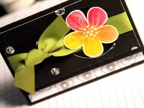 Gift Card Holder - Make a Card Monday #33