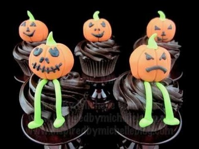 Halloween cupcake decorating tutorial http:.www.inspiredbymichelle.com.au