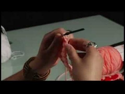 How to Crochet a Bag : Crochet: Add Length to Bag Strap