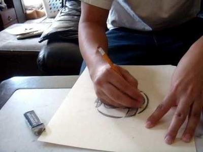 How To Make a Stencil (box kid edition)