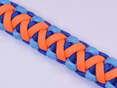 How to Make A Survival Paracord Bracelet - Soloman V Bar - BoredParacord