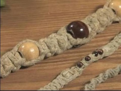 How to Make Hemp Necklaces : How to Make Hemp Necklaces