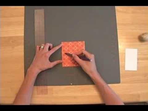 Japanese Stab Book Binding Part 1
