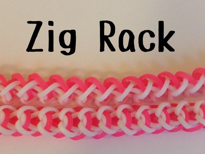 NEW Zig Rack Bracelet | Hook Only | Rainbow Loom