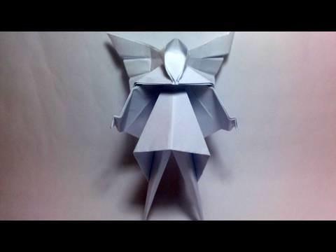 Origami Christmas Tree Fairy (David Brill)