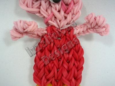 Rainbow Loom Peppa Pig Charm