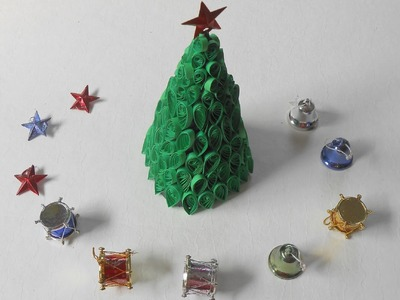 3D Quilling Christmas Tree: Xmas Special Tutorial