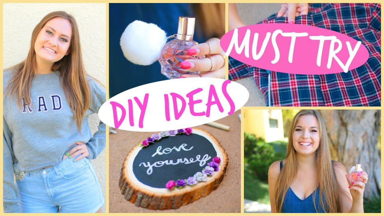 5 DIY Projects Every Girl Should Try!