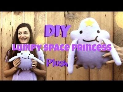 Adventure Time DIY || LUMPY SPACE PRINCESS!