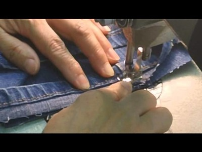 "Blue Jean Original Hem (the ""magic hem"")"