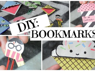 DIY Bookmarks | Back to School