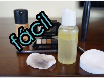 DIY: Desmaquillante Facial | DIY Makeup Remover