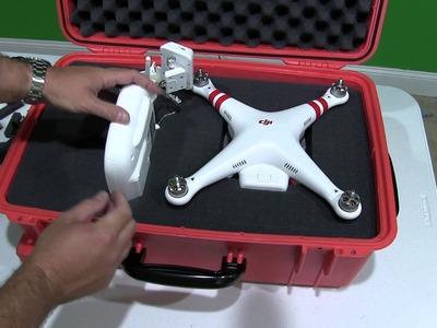 DIY DJI Phantom 2 Vision+ Case (Waterproof & Ruggedized)