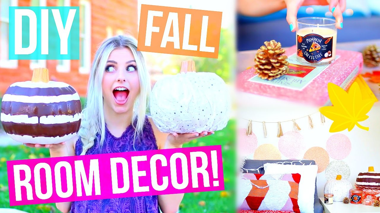 DIY Fall Room Decor Ideas! Cute + Easy! | Aspyn Ovard