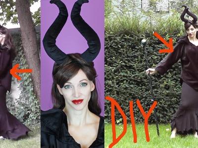 DIY Maleficent Costume - Halloween 2015 #3