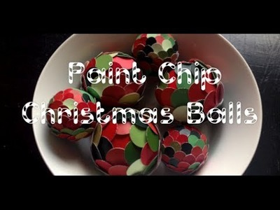 DIY: Scalloped Christmas Balls or Centerpiece ♡ Theeasydiy #ChristmasWithJess