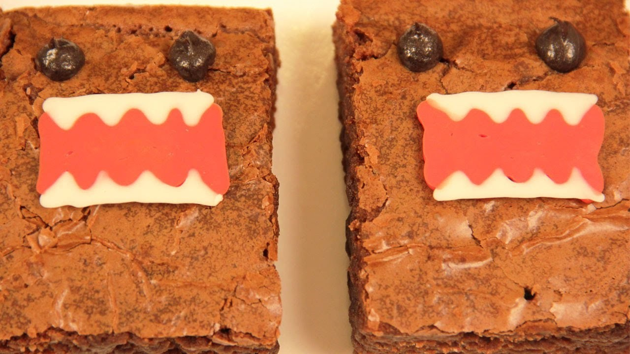 DOMO KUN BROWNIES - NERDY NUMMIES