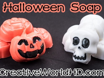 Easy DIY: Pumpkin.Skull Soap.Jack O' Lantern Halloween Fall Tutorial by Creative World