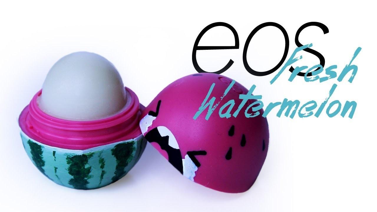 Fresh watermelon eos lipbalm | Pencilmade.dk