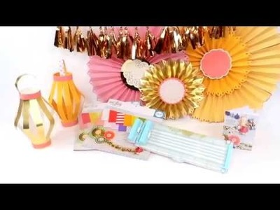 Fringe & Score Board - DIY Party From We R Memory Keepers