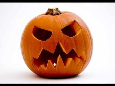 How to carve a pumpkin  in minutes: Easy