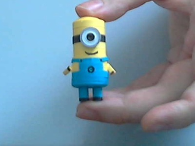 How to make 3D Quilling Minion part 2