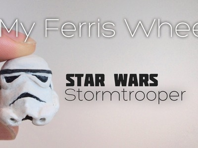 How to make a Stormtrooper helmet thumb drive out of polymer clay (Star Wars)