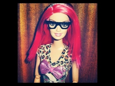 How to make Barbie Glasses - Tutorial