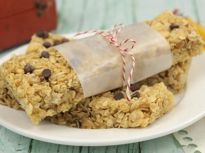 How to Make Homemade Granola Bars!