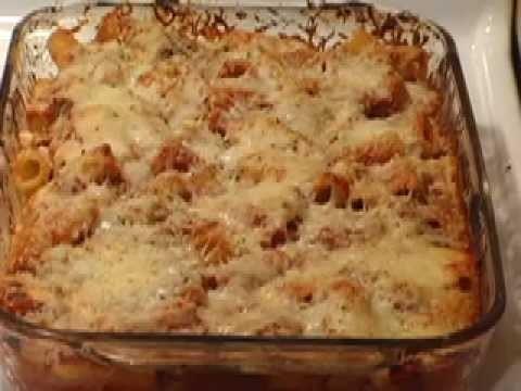 How to make Italian Ziti Bake
