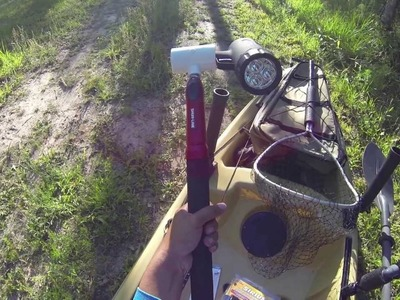 How to Setup Lights for Night Kayak Fishing - Galveston Causeway
